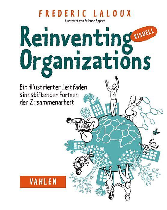 Titelbild des Buches Reinventing Organizations von Frederic Laloux
