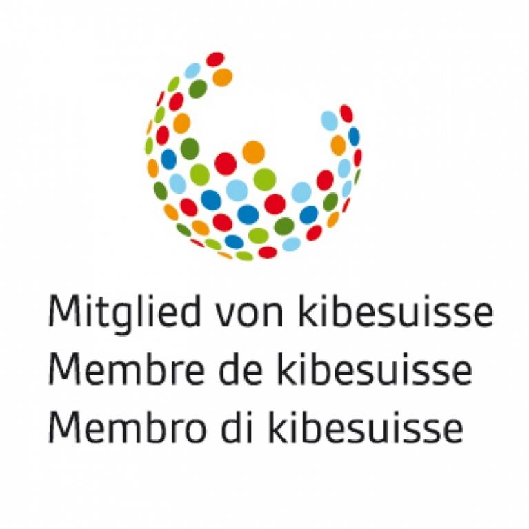 Logo kibesuisse - Verband der Schweizer Kitas - die Momokita ist Mitglied