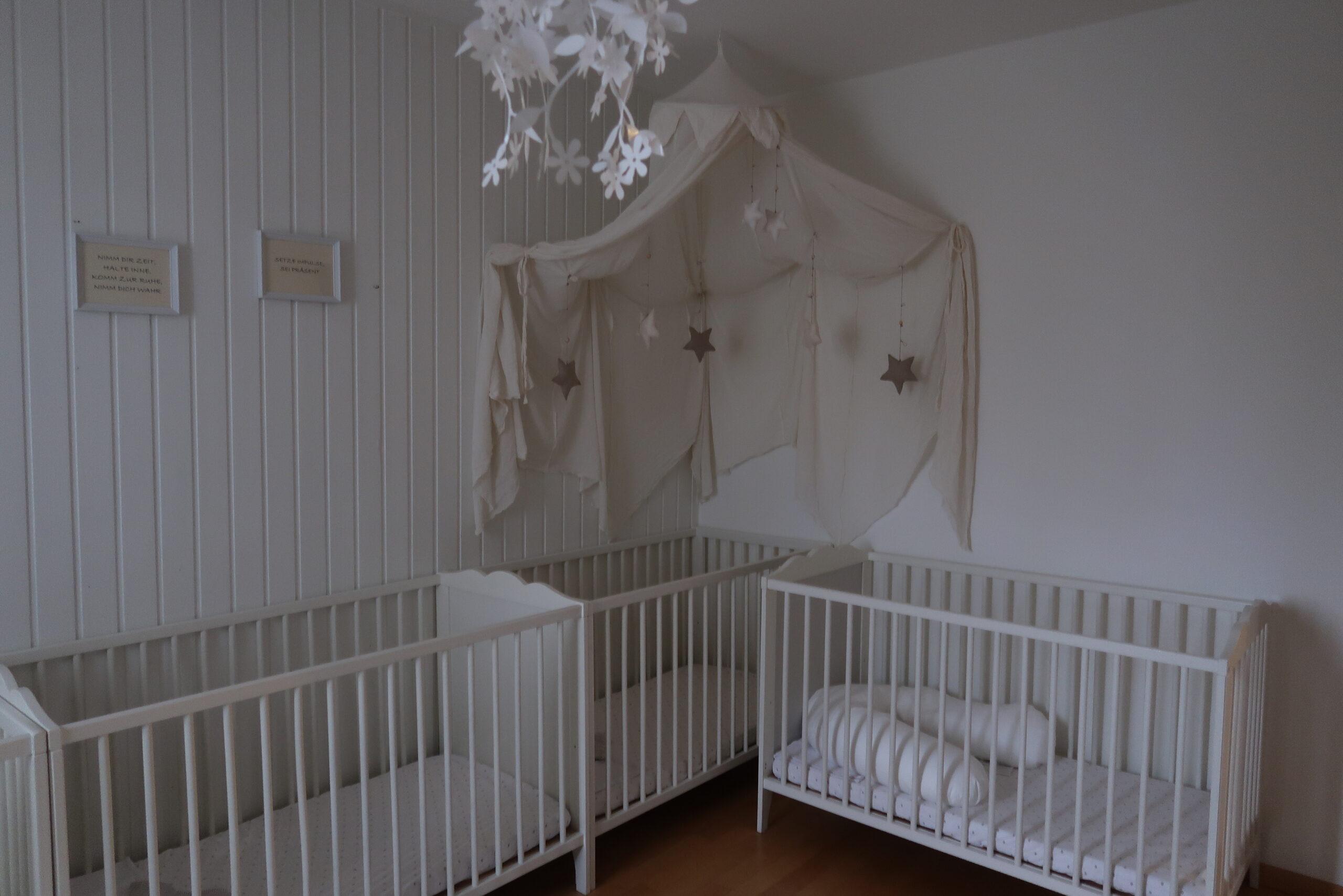 Räume für Säuglinge und Kleinkinder in der Momokita Möhlin