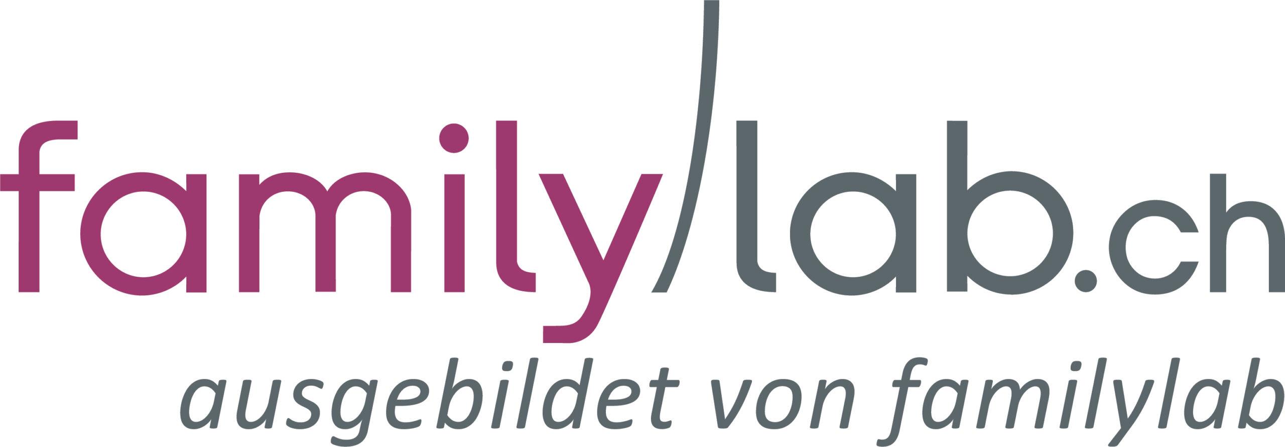 Logo familylab.ch - Partnerorganisatin der Momokitas
